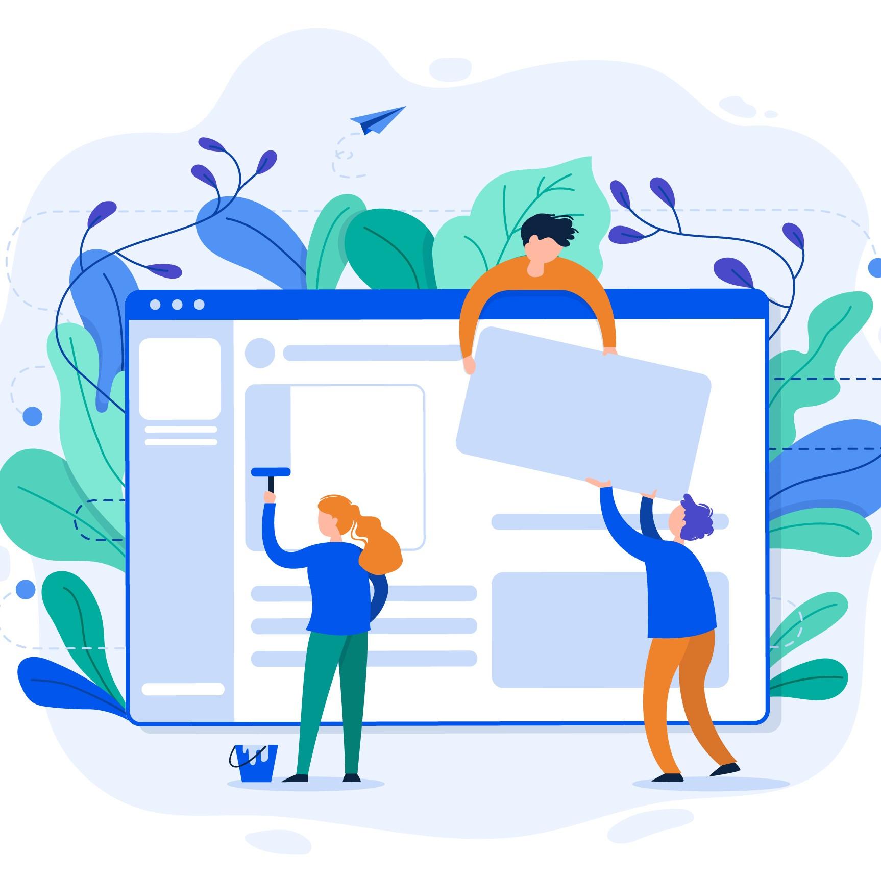 איך לבנות אתר